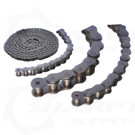 "100Fr-3 1-1/4"" Pitch Triple Strd Cottered Chain - Rexnord-Linkbelt RC100-3"