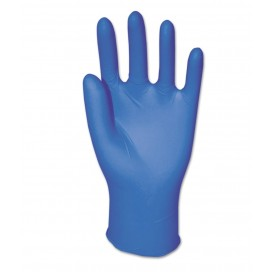 100 Nitrile Gloves, 5 Mil Large, Unlined [1 Box x 100pc/box]
