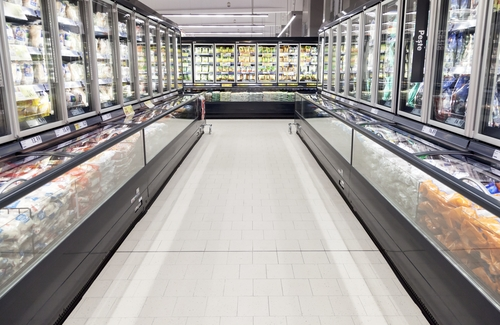 commercial refrigerators grocery store